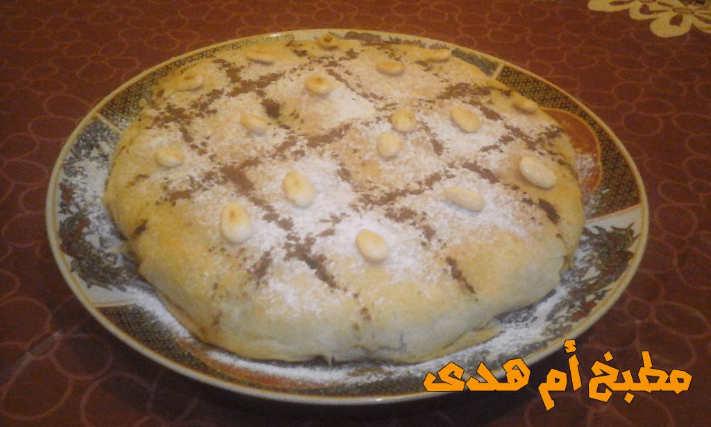طريقة تحضير البسطيلة المغربية بالدجاج و اللوز الرائعة التي تقدم في المناسبات العائلية أو الأعراس