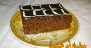 كيكة الشوكولاته فهي لذيذة المذاق و سهلة التحضير تحتاج فقط الى مكونات بسيطة و القليل من الوقت